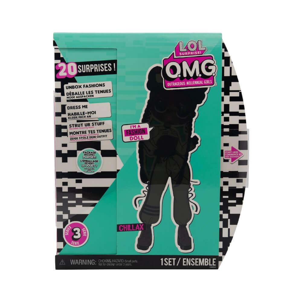 Большая кукла LOL Surprise OMG Chillax Fashion Doll с 20 сюрпризами (3 серия) - 2
